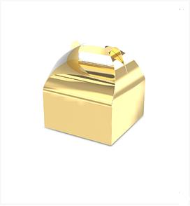 """Подарочная бонбоньерка """"Мини"""", золото"""