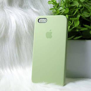 Чехол iPhone 5 5s SE зеленый