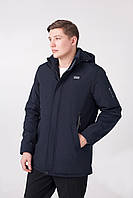 Куртка демисезонная мужская синяя М-63A