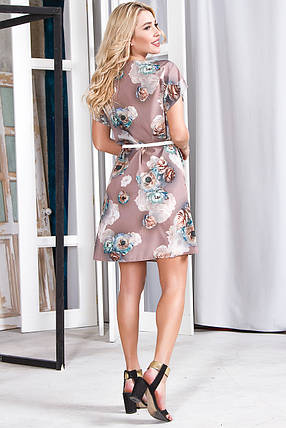 Платье 628 бежевое, фото 2