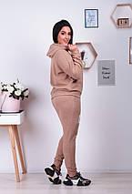 """Женский ангоровый спортивный костюм """"ANGORA"""" с капюшоном (большие размеры), фото 2"""