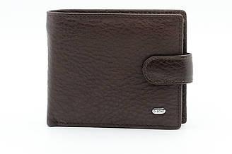 Мужской кошелек из натуральной кожи коричневого цвета Dr.Bond (20988)