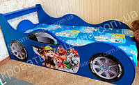 Кровать машина Щенячий Патруль синяя
