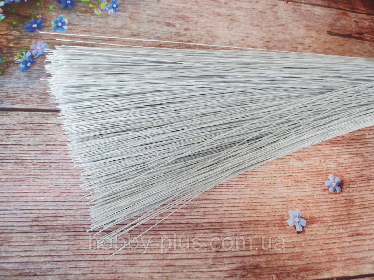 Флористическая проволока 0,4 мм 60 см 50 шт/уп