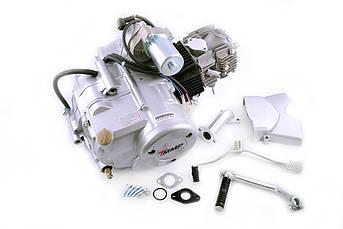 Двигатель (В сборе)  на Мопед Дельта (Deltа), Вайпер Актив (Viper Activе) 110 см³ (Автоматическая коробка