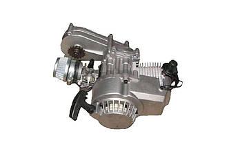 Двигатель (В сборе)  на Питбайк (Pitbike), на Квадроцикл (ATV) 2Т 2-х тактный (ручной стартер) (65 см3) VV