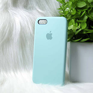 Чехол iPhone 5 5s SE бирюзовый