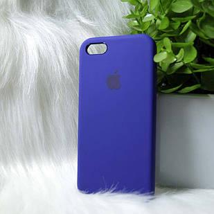 Чехол iPhone 5 5s SE фиолетовый