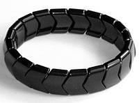 Звенья турманиевые для браслетов (М-23) черный поштучно