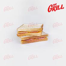 Сэндвич с салями и соусом Чеддер