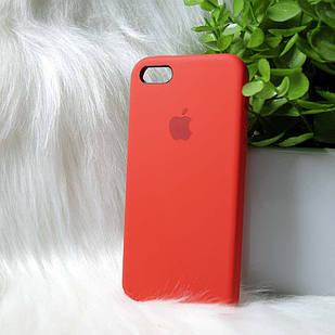 Чехол iPhone 5 5s SE красный