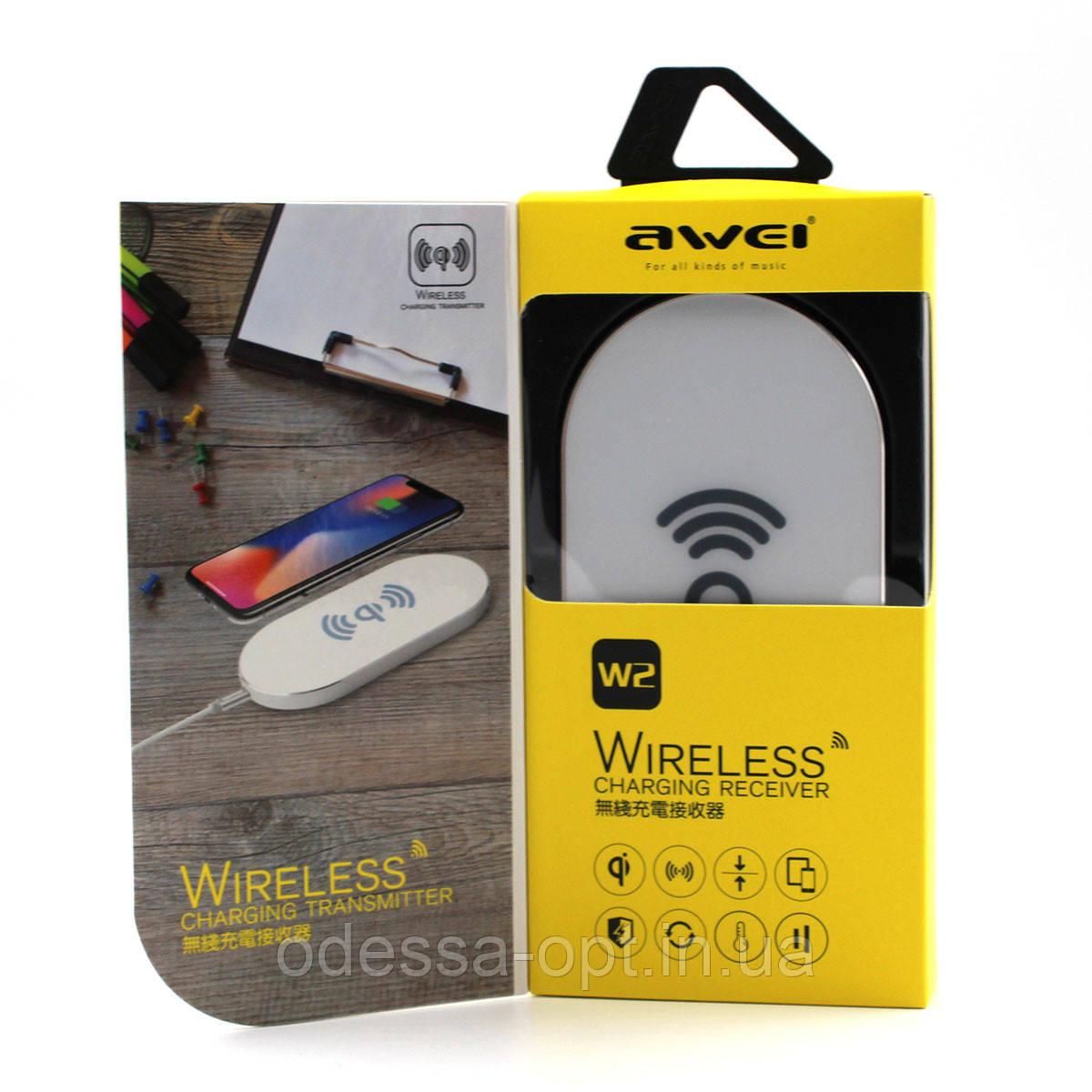 Беспроводное зарядное устройство AWEI W2 + WIRELESS CHARGE