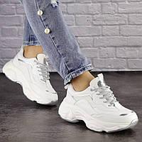 Женские белые кроссовки Harper 1463