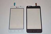 Оригинальный тачскрин / сенсор (сенсорное стекло) для LG Optimus L65 Dual SIM D285 (белый цвет)