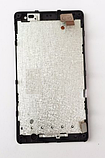 Оригинальный дисплей (модуль) + тачскрин (сенсор) с рамкой для Microsoft Lumia 435 | RM-1069, фото 2