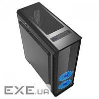 Корпус ATX без блока живлення GAMEMAX Elysium Black