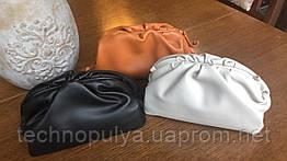 Сумка-клатч натуральная кожа с отсоединяющимся ремешком CLUTCH BAG