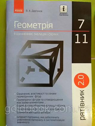 Геометрія 7-11 клас в означеннях таблицях і схемах