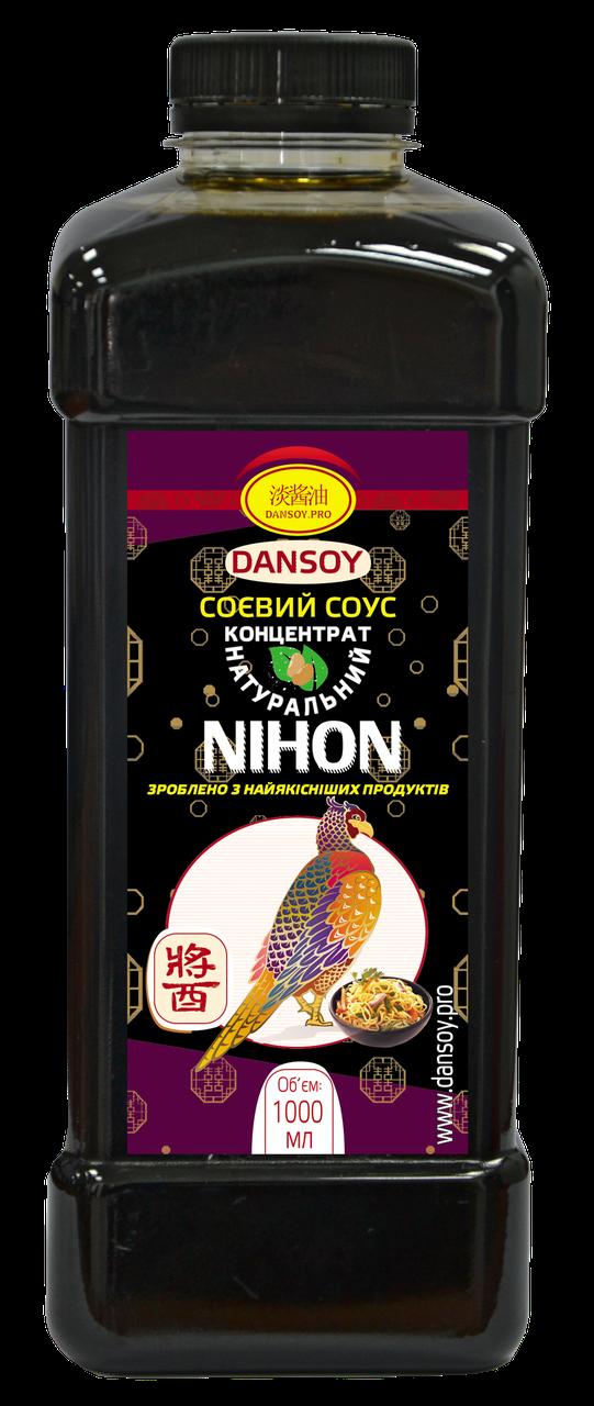Cоевый соус для кальмаров Nihon 1л 🦑 от ТМ Дансой