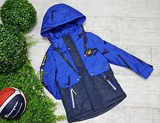 Демисезонные куртки для мальчиков детские на рост 74-164