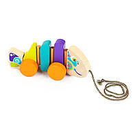Іграшка-каталка Cubika Рибка дерев'яна (13630)