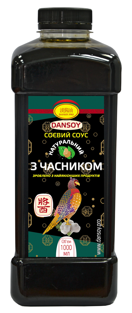 Cоевый соус для водорослей с чесноком 1л 🦑 от ТМ Дансой