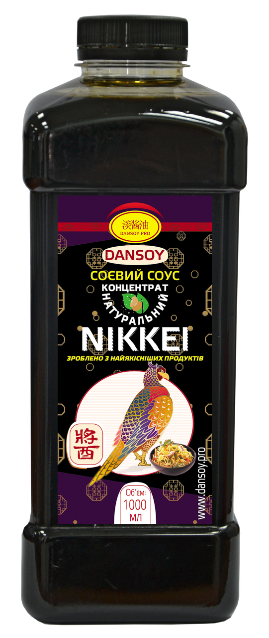 Cоевый соус для водорослей Nikkei 1 л 🦑 от ТМ Дансой