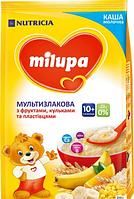 Молочна каша Milupa Мультизлакова з фруктами пластівцями і кульками 210 г (0102)