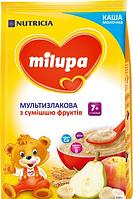 Молочна каша Milupa Мультизлакова з сумішшю фруктів 210 г (0010)