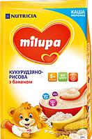 Молочна каша Milupa Кукурудзяно-рисова з бананом 210 г (1185)