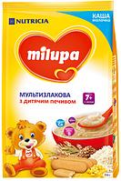 Молочна каша Milupa мультизлакова з дитячим печивом 210 г (1161)