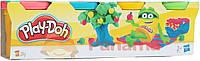 Hasbro Набор пластилина Play-Doh 4 контейнера, 23241
