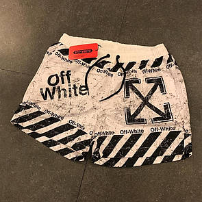 Чоловічі пляжні шорти, Off-White