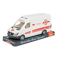 Автомобіль Tigres Mercedes Benz Sprinter швидка допомога на планшетці (39712)