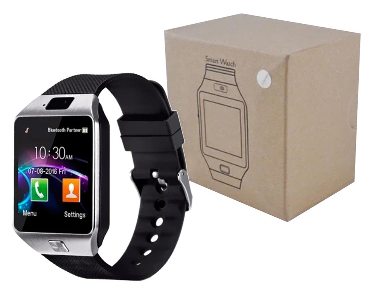Умные часы Smart Watch DZ09 Silver