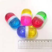 Лизун-гель Капсула 2 цвета 6 см 60 гр арт. 3809_IMG