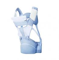 Рюкзак кенгуру Xiaomi Yung Multifunctional Baby Btraps Blue