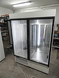 Шкаф холодильный COLD SW-1400 DR (стеклянные распашные двери и с лайт-боксом), фото 2