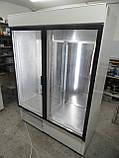 Шкаф холодильный COLD SW-1400 DR (стеклянные распашные двери и с лайт-боксом), фото 3