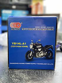 Аккумулятор мото Outdo 14Ah YB14L-A1