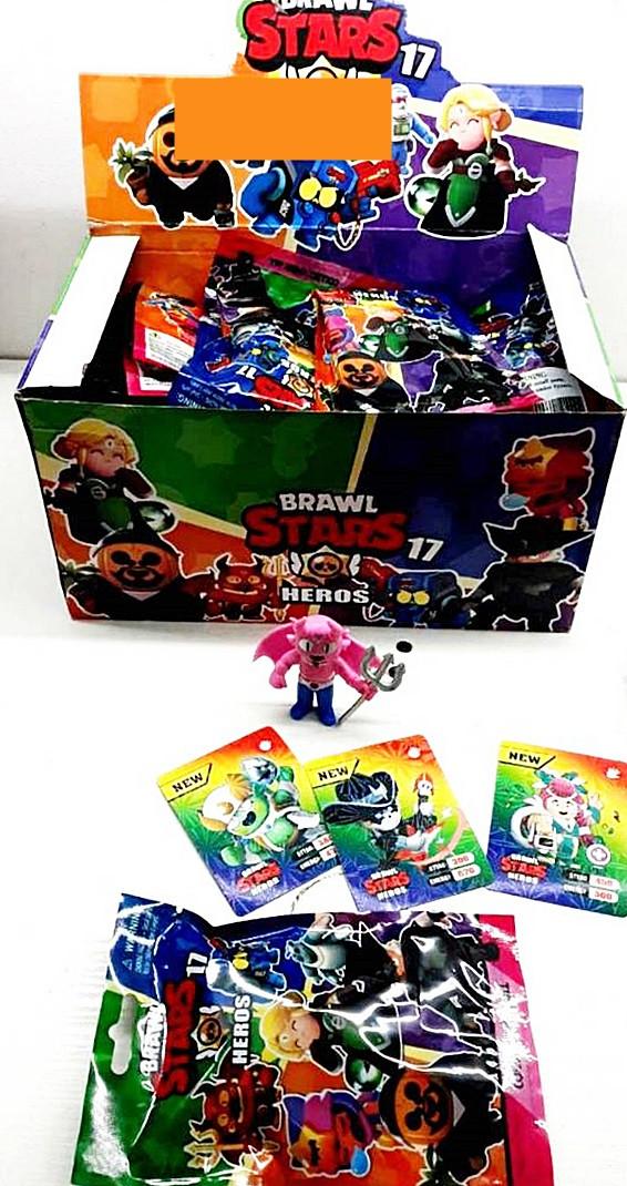 Фігурки з картками Brawl Stars 17 сезон