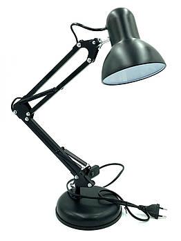 Настольная лампа черная, на подставке , шт