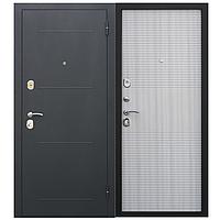 Двери входные уличные Таримус Групп Гарда 80 мм Муар / Белый ясень
