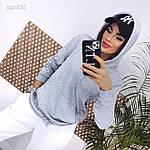 """Жіночий світшот """"Турецька двунитка"""" від Стильномодно, фото 6"""