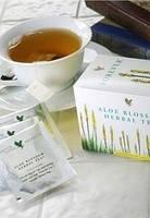 Контроль сахара в крови - Травяной чай из цветов алоэ с травами / Aloe Blossom Herbal Tea, 25 пакетиков