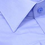 Сорочка чоловіча, прямого покрою з довгим рукавом Birindelli 512126 80% бавовна 20% поліестер M(Р), фото 2