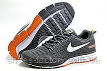 Беговые кроссовки в стиле Nike Air Zoom Shield, Gray\White\Orange, фото 2