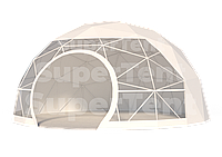 Шатер Сфера Геокупол Геодом диаметр 6,2 м