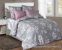 Комплект постельного белья двуспальный БЕРГАМО ( нав. 70*70)