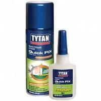 Клей Tytan Quick Fix цианакрилатный 2х компонентный 200мл+50гр